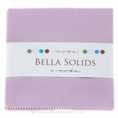 Bella Solids Lilac Charm Pack by Moda