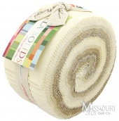 Bella Solids Neutral (Oatmeal) Jelly Roll