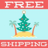 Free Shipping - Christmas In July!
