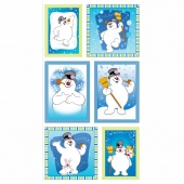 Frosty the Snowman - Blue Frosty Picture Patch Panel