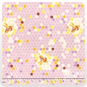 Briar Rose - Hex Bee Lilac Yardage