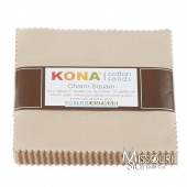Kona Cotton - Parchment Charm Pack