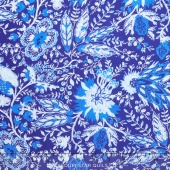 Annabelle - The Colonial Williamsburg Foundation Jacobean Floral Blue Yardage