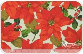 Poinsettia & Holly - Poinsettia Natural Yardage