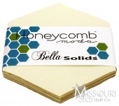 Bella Solids Snow Honey Comb