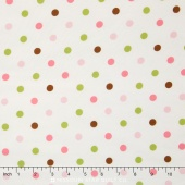 Cozy Cotton Girl - Garden Flannel Yardage
