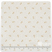 Butter Pecan - Small Flowers Honey Yardage