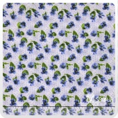 Lovely - Blue Yardage