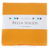 Bella Solids  Cheddar Charm Pack by Moda