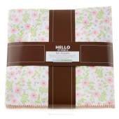 Cozy Cotton Flannel Girl Ten Squares