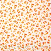 Simply Colorful - Two Lips Orange Yardage