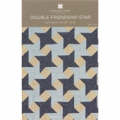 Double Friendship Star Quilt Pattern by MSQC