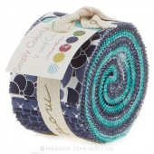 Simply Colorful II Blue Junior Jelly Roll