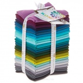 Kona Cotton Patchwork City Winter Fat Quarter Bundle