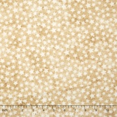 Stonehenge Stars & Stripes - Tan Stars Yardage