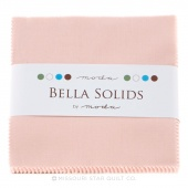 Bella Solids Sisters Pink Charm Pack by Moda