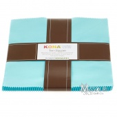 Kona Cotton - Bahama Blue Ten Squares