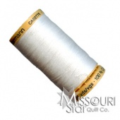 White - Cotton Quilting Thread (250m / 273yds)