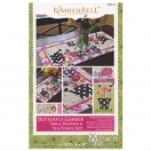 Butterfly Garden Table Runner & Tea Towel Set Pattern