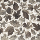 Stonehenge Hidden Valley Flannel - Elements Leaves Yardage