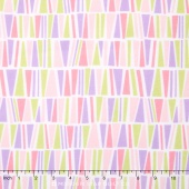 Cozy Cotton Flannels - Pastel Triangles Yardage