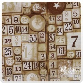 Eclectic Elements - Game Pieces Taupe Yardage