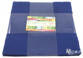 Bella Solids Blue Layer Cake By Moda Fabrics SKU# 9900LC 48