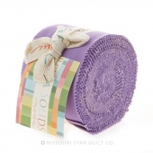 Bella Solids Hyacinth Junior Jelly Roll by Moda