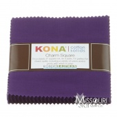 Kona Cotton - Purple Charm Pack