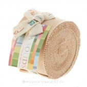 Bella Solids Tan Junior Jelly Roll