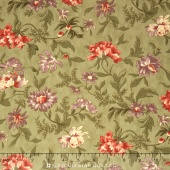 Hyde Park - Cornflower English Ivy Yardage