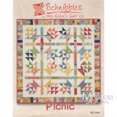 Schnibbles Picnic Quilt Pattern