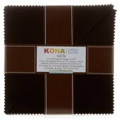 Kona Cotton Solids - Black Turnover