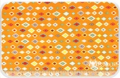 Boy Crazy - Diamond Orange Yardage