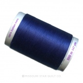 Mettler Thread - Imperial Blue 547 yards - 100% Long Staple Egyptian Cotton - Silk Finish Thread - 50wt