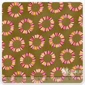 Acacia - Pineapple Slices Olive Yardage