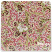 Rosemont Gazebo - Malabar Tea Rose Yardage