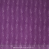Fresh Lilacs - Purple Wavy Stripe Yardage