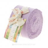 Bella Solids Lilac Junior Jelly Roll by Moda