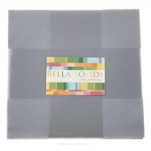 Bella Solids Steel Junior Layer Cake by Moda