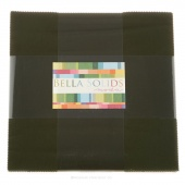 Bella Solids Pine Junior Layer Cake by Moda