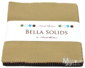 Bella Solids Darks Charm Pack from Moda Fabrics SKU# 9900PP 22