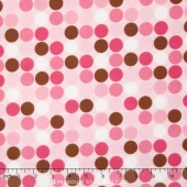 Cozy Cotton Girl - Pink Flannel Yardage