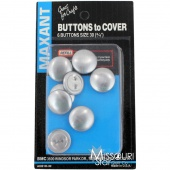 Button Cover Refill - For 3/4