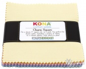 Kona Solids - New Pastel Palette Charm Pack