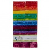 Lavish Rainbow Batiks Strip Pack