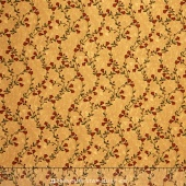 Sunflower Song - Vine Melody Tan Yardage