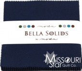 Bella Solids Blue Charm Pack