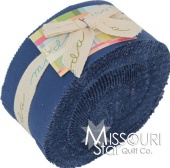 Bella Solids Blue Jelly Roll