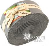 Bella Solids Silver Jelly Roll